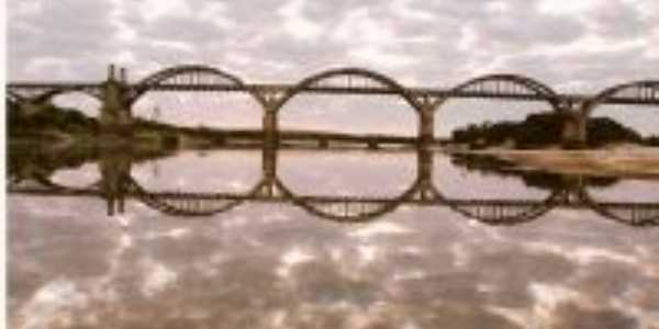 Vista fluvial da Ponte Gen. Osório, Por Claudio Ricardo Freitas (Kaco)