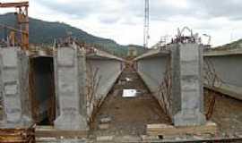 Maquiné - Ponte em construção-Foto:PACM BR101SCRS Geren…