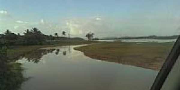 Rio em Lamarão-Foto:jose luiz matias