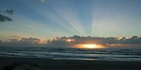 Pôr do Sol em Mariápolis-Foto:luis langer