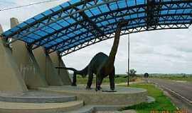 Mata - Mata-RS-Dinossauro na entrada da cidade-Foto:alepolvorines