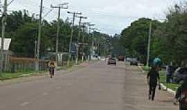 Minas do Leão - Rua da cidade-Foto:fordobrasil