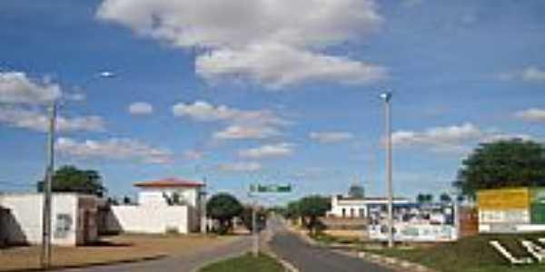 Entrada da cidade de Lap�o-BA-Foto:Admirando o Brasil e�