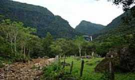Morro Azul - Cascata Pedra Branca ao fundo-pcrapaki