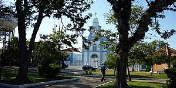 Igreja São Luis Rei da França, Mostardas, RS - Por Ubirajara Buddin Cruz