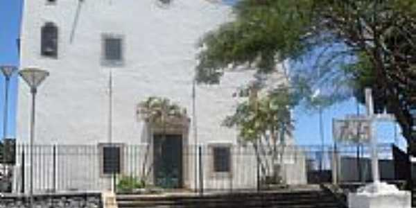 Igreja do Povoado Santo Amaro do Ipitanga em Lauro de Freitas-BA-Foto:Marcelo S F