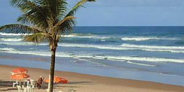 Lauro de Freitas-BA-Vista da praia-Foto:Mone de Castro