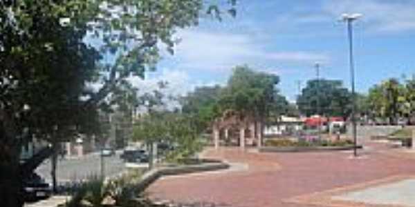 Praça da Matriz em Lauro de Freitas-BA-Foto:Marcelo S F