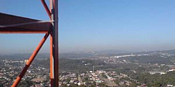 Nossa Senhora Aparecida-RS-Vista aérea da cidade-Foto:leandroventurini