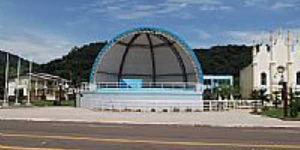 Concha acústica de Nova Alvorada-Foto:fredysilva11
