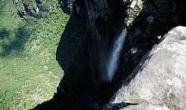Lençóis - Lençóis-BA-Cachoeira da Fumaça-Foto:jfrezende