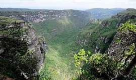 Lençóis - Lençóis-BA-Vale da Cachoeira da Fumaça-Foto:jfrezende