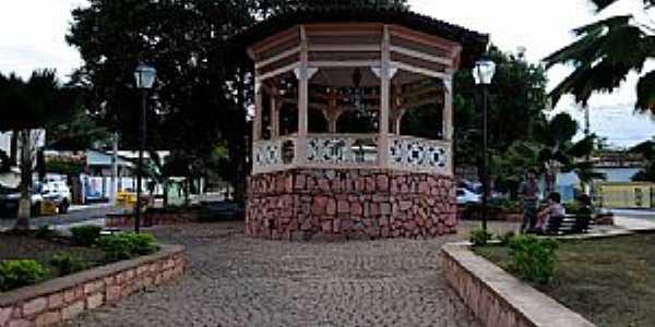 Lençóis-BA-Coreto na Praça Central-Foto:jfrezende