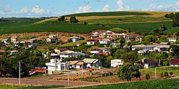 Nova Boa Vista-RS-Vista parcial da cidade-Foto:www.novaboavistars.