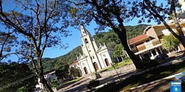 Imagens da cidade de Nova Palma - RS