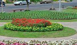 Nova Petrópolis - Nova Petrópolis-RS-Jardins da cidade-Foto:FHaddad