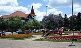 Nova Petrópolis - Nova Petrópolis-RS-Praça das Flôres-Foto:Vilson Flôres