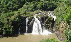 Nova Prata - Nova Prata-RS-Cascata da Usina na Floresta Municipal,junto ao Parque Caldas de Prata-Foto:www.novapratars.com.br