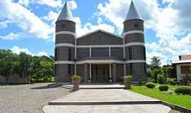 Nova Prata - Nova Prata-RS-Igreja de São Pelegrino-Igreja de Pedra-Foto:www.novapratars.com.br