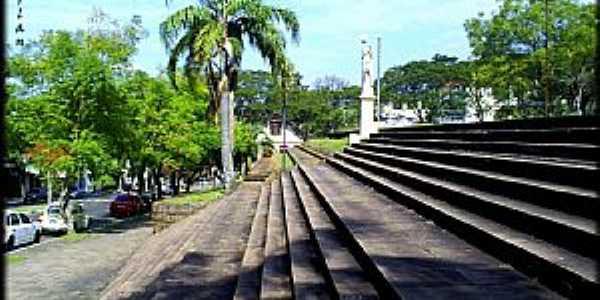 Nova Prata-RS-Escadaria da Matriz-Foto:Darlan Corral