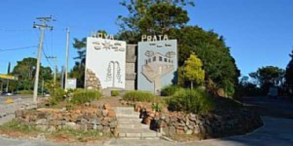 Nova Prata-RS-Painel do Trevo Norte-Foto:www.novapratars.com.br