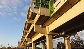 Novo Hamburgo - Novo Hamburgo-RS-Estação São Afonso do Metrô-Foto:Paulo Yuji Takarada