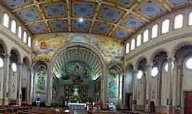 Novo Hamburgo - Novo Hamburgo-RS-Interior da Catedral de São Luiz Gonzaga-Foto:Paulo Yuji Takarada