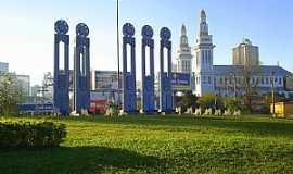 Novo Hamburgo - Novo Hamburgo-RS-Monumento ao Sapateiro-Foto:Vilson Flôres
