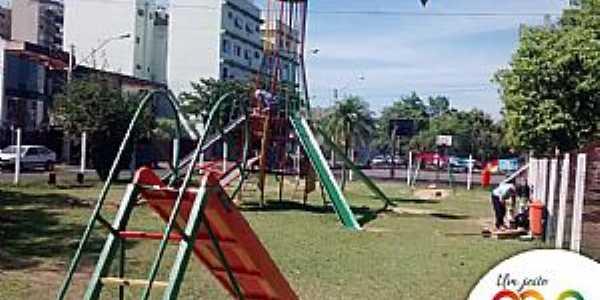 Novo Hamburgo-RS-Parque Infantil-Foto:Facebook