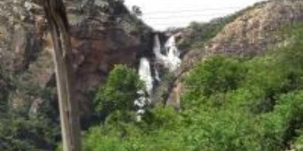 Livramento de Nossa Senhora-BA-Cachoeira Véu de Noiva-Foto:Celso Oliveira Silva