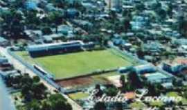 Palmeira das Missões - Foto antiga - No detalhe o Estádio do Palmeirense F.C, Por Lucas Andrade
