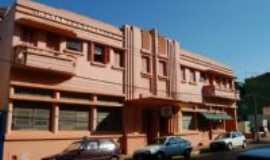 Palmeira das Missões - Prédio Histórico - Hotel do Comérico no centro da cidade, Por Jean Prado
