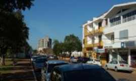 Palmeira das Miss�es - Rua Marechal Floriano Peixoto, ao lado da prefeitura - Por Jean Prado,