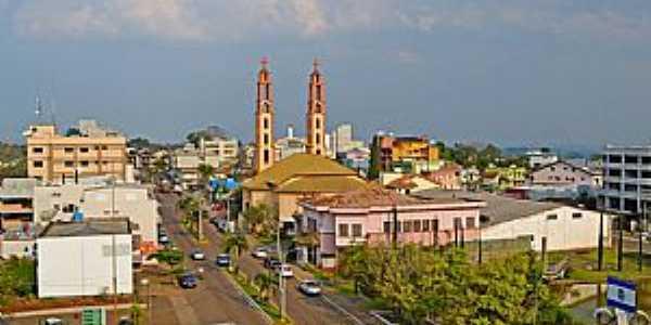 Imagens da cidade de Palmitinho - RS Foto Prefeitura Municipal