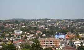 Panambi - Vista da cidade com Ipês floridos