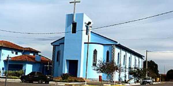 Igreja N Sra de Fátima, Pântano Grande, RS - por Roque Oliveira