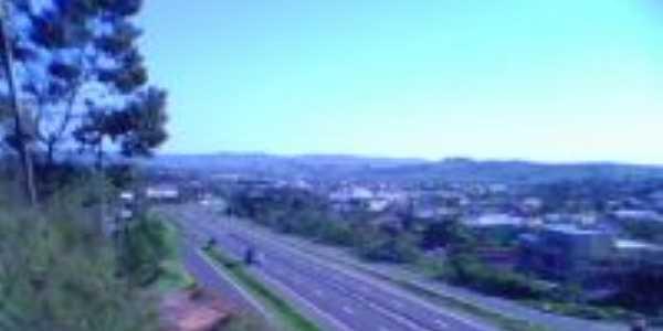 Vista da RS 239 sentido Parobé Sapiranga, Por Carlos Alberto Dias