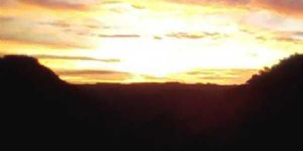 Por do sol  Passa Sete/Roncador  Por Taís Slim