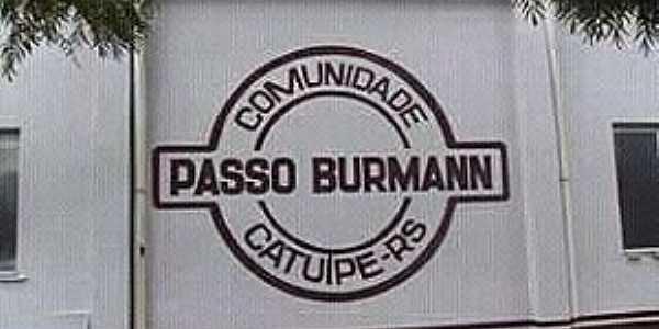 Imagens da localidade de Passo Burmann comunidade da cidade de Catuípe - RS
