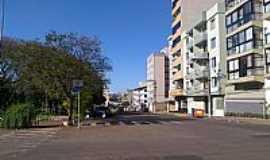 Passo Fundo - Passo Fundo-RS-Praça e Avenida no centro-Foto:Fredy Silva