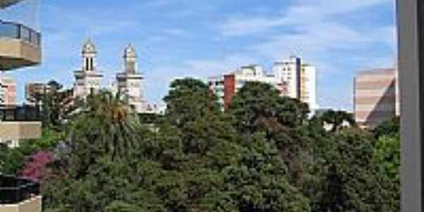 Passo Fundo-RS-Vista da Praça Marechal Floriano-Foto:fábio haas