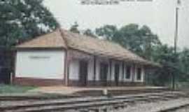 Passo Novo - Estação Ferroviária de Passo Novo, em 10/02/1996-Foto:Alfredo Rodrigues
