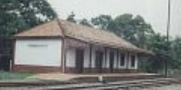 Estação Ferroviária de Passo Novo, em 10/02/1996-Foto:Alfredo Rodrigues