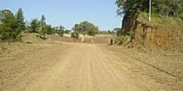 Estrada na Pedreira em Passo Raso-Foto:vila progresso