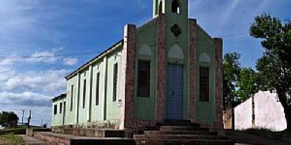 Pedras Altas-RS-Igreja de São Manoel-Foto:Roque Oliveira