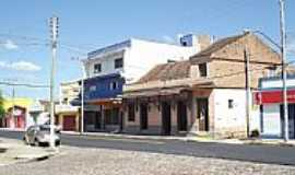 Pedro Osório - Pedro Osório-RS-Estação Rodoviária no centro-Foto:Ubirajara Buddin Cruz