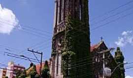 Pelotas - Catedral do Redentor,conhecida como Igreja cabeluda-1892-em Pelotas-Foto:Claudia Villar