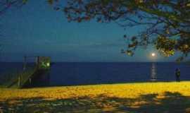 Pelotas - Por do Sol  trapiche da Praia do Laranjal, Por Denise weikamp martinelli