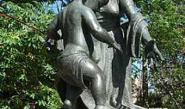 Pelotas - Pelotas-RS-Monumento às Mães de Antônio Caringi-Foto:Henrique de BORBA