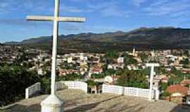Macaúbas - Cruzeiro da Capela do Senhor do Bonfim em Macaúbas-BA-Foto:Helivelto Lima